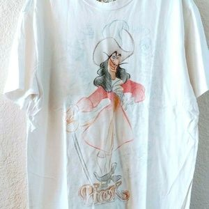 Disney Studio Collection Hook Sketch T-Shirt